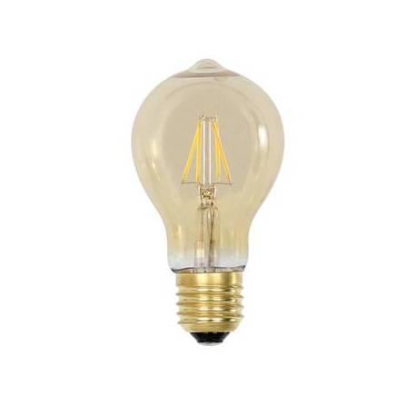 Ampoule Edison Sphérique à LED E27 Dimmable 3W Lumière Ambrée 6x6x11cm