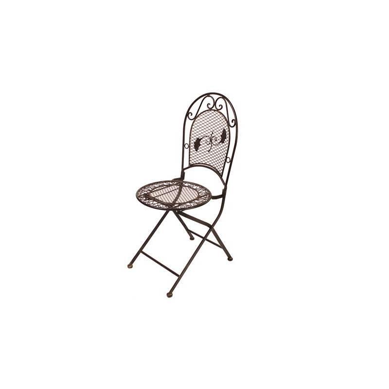 Chaise de Jardin Siège Fauteuil Assise Pliante de Salon de Jardin ...