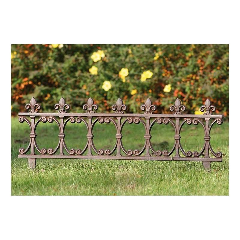 bordure de jardin bordurette grille victorienne motif. Black Bedroom Furniture Sets. Home Design Ideas
