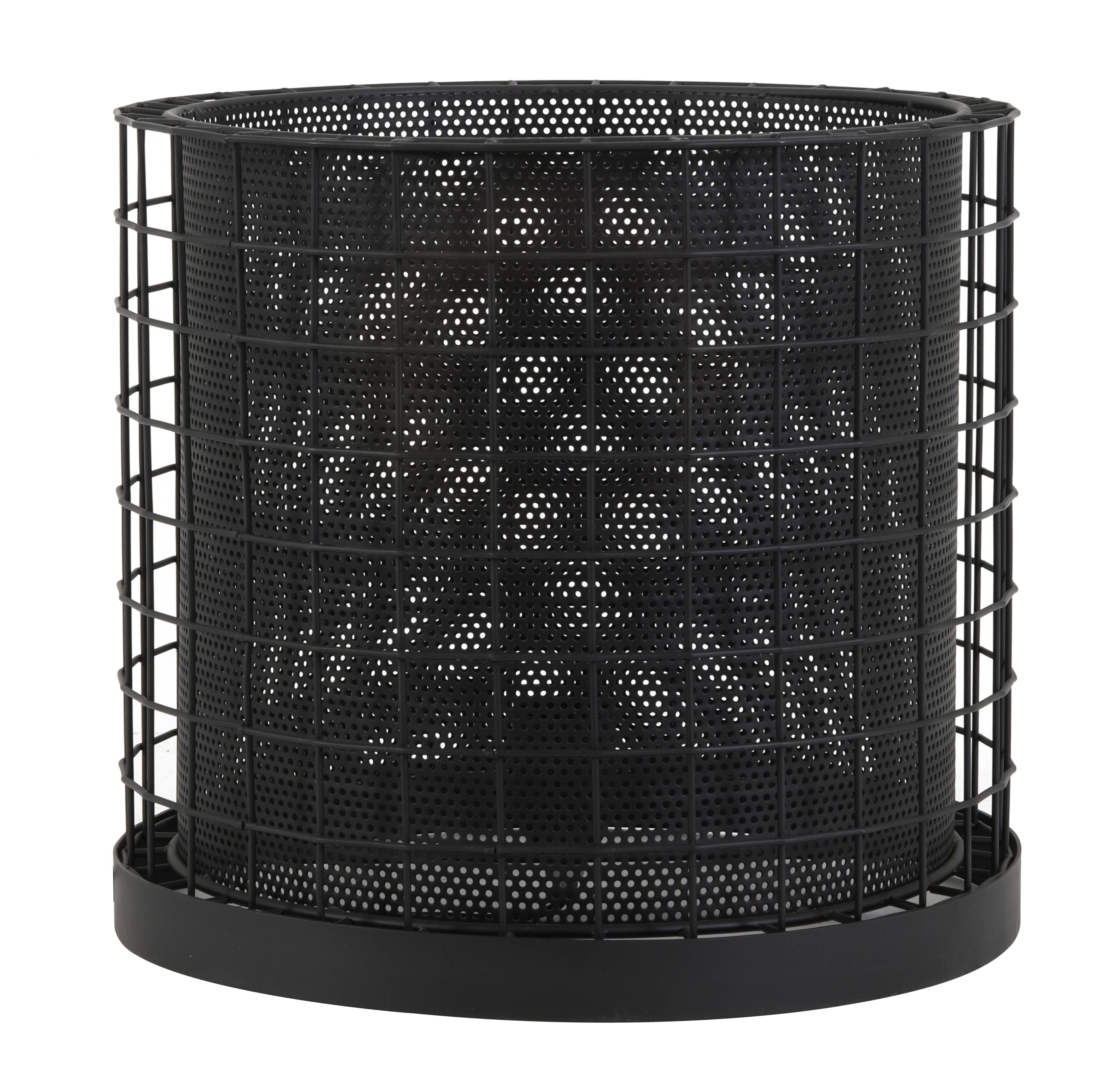 Noire Lampe Industriel Tendance Salon Bureau Métal 30x33cm Luminaire Poser En Ou Couleur De Cajana D'appoint À 5S3jqc4ARL