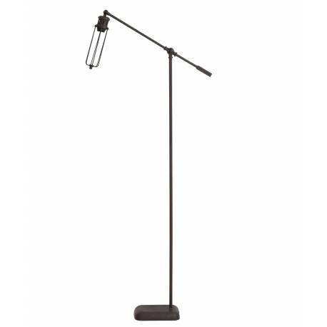Eclairage Design sur Pied DEVID Lampadaire Tendance Lampe d'Appoint en Métal de Patiné Rouille 16x65x143cm