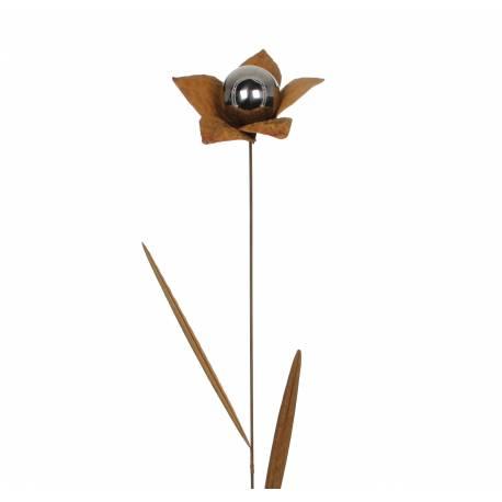 fleur sur tige tuteur piquer d coration florale branche. Black Bedroom Furniture Sets. Home Design Ideas