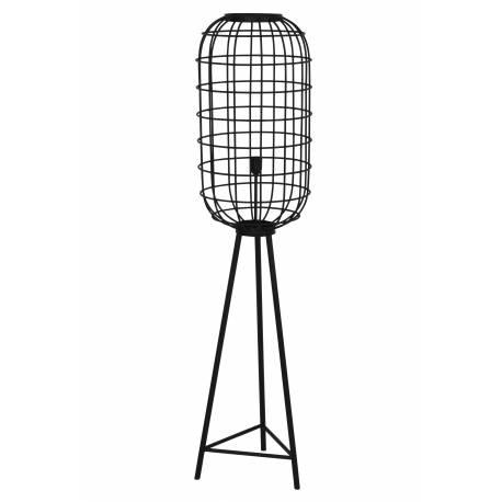 Eclairage Moderne En Luminaire Sur Métal Pied Patiné Noir 5x151cm Lampe Trépied D'appoint 5x36 Toah Industrielle 36 lKF1Jc
