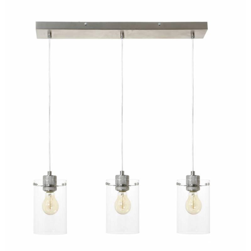 Suspension contemporaine vancouver eclairage 3 lumi res luminaire suspendre eclairage - Suspension contemporaine salon ...