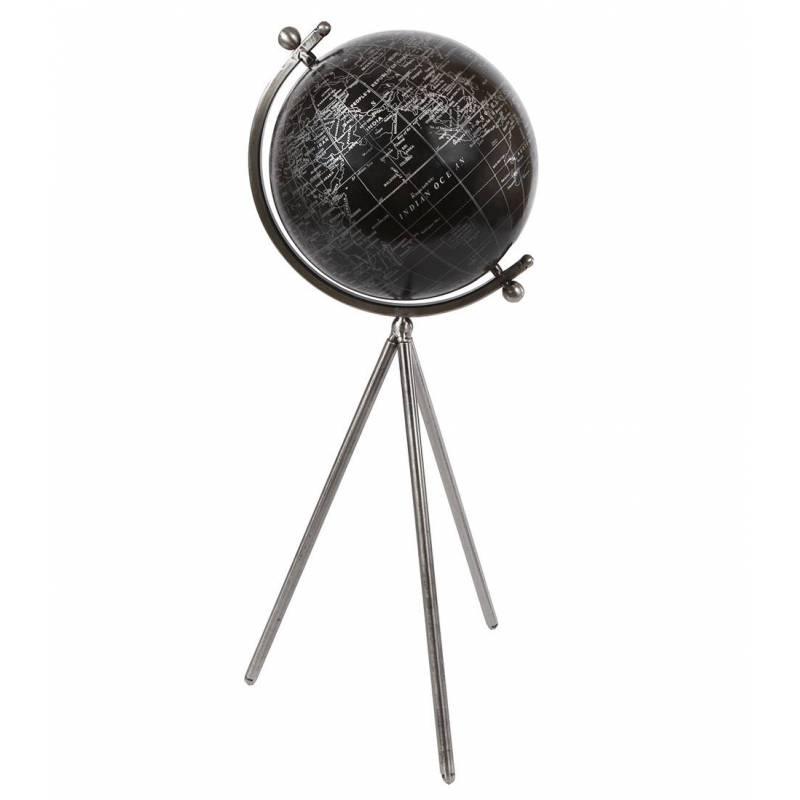 grande mappemonde globe terrestre d coratif rotatif. Black Bedroom Furniture Sets. Home Design Ideas