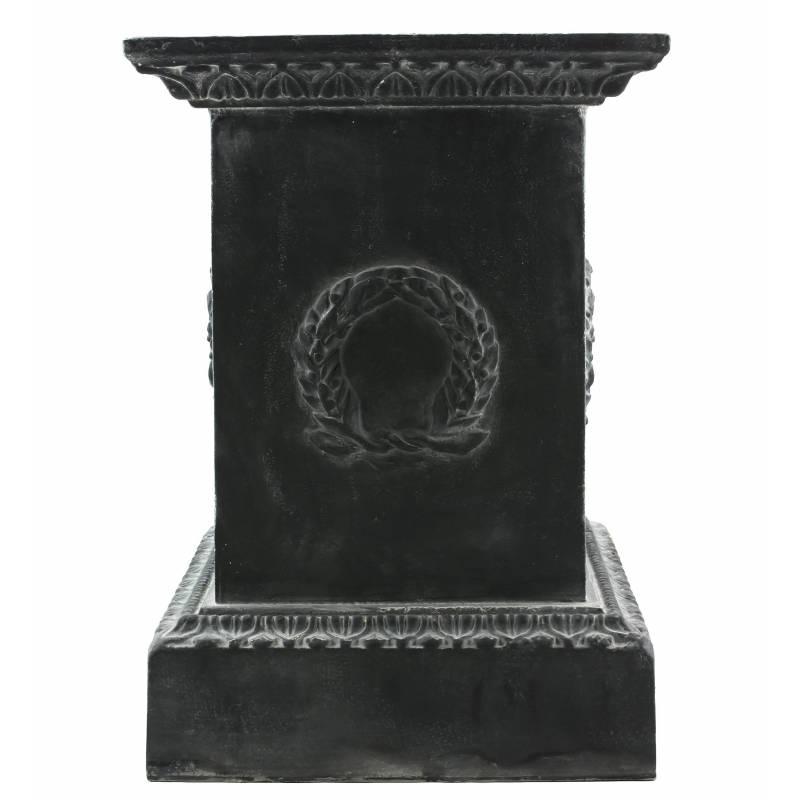 Socle colonne pilier pour vasque jardini re d coration ext rieure int rieure de ch teau en fonte - Decoration jardiniere exterieure ...