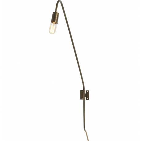 Applique Doré Liseuse Lampe Murale Tendance Industriel 7x55x103cm Luminaire Métal Laiton Couleur WH2IYED9