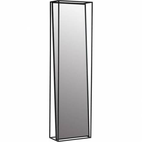 Grand Miroir Psyché RECTANGLE Athezza Glace de Chambre en Acier 25x50x180cm