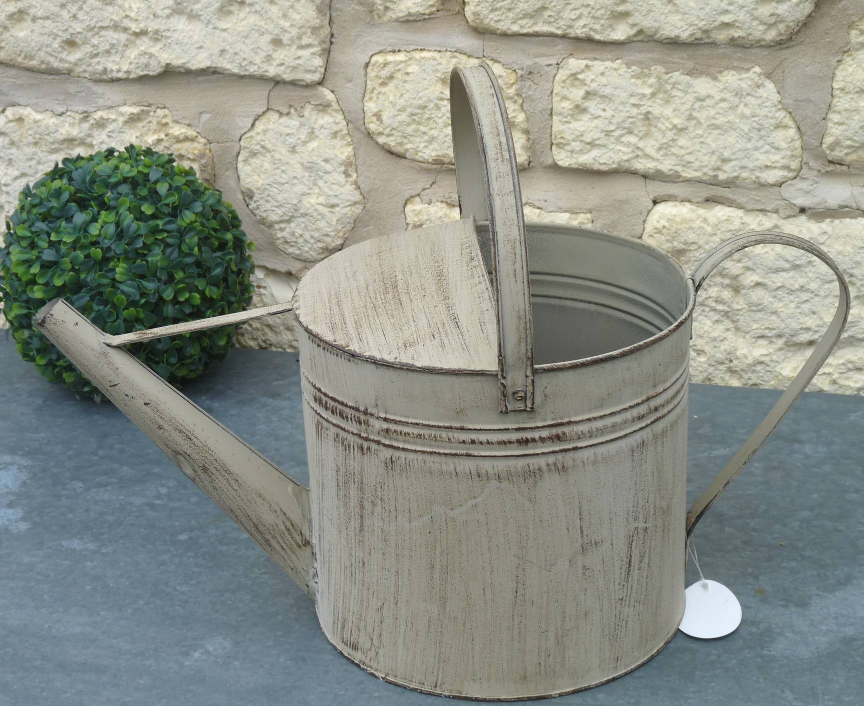 Arrosoir Cache Pot Décoratif ou Broc Porte Jardini¨re Fonctionnel