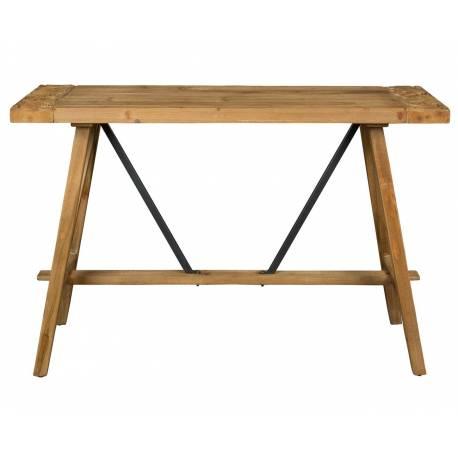 console bureau dustin dutchbone meuble rectangulaire. Black Bedroom Furniture Sets. Home Design Ideas
