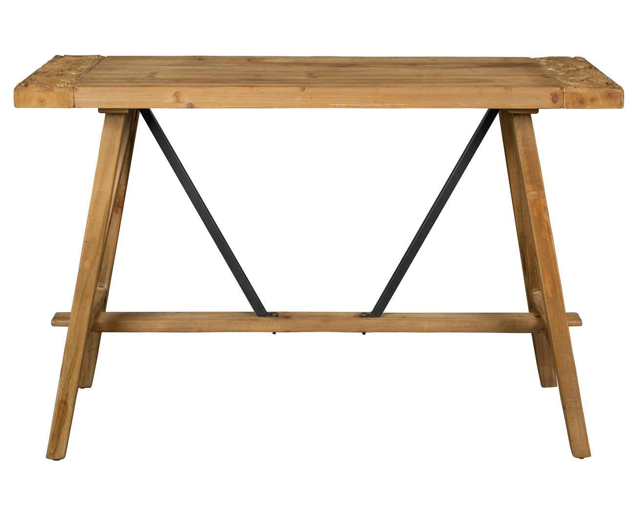 Bureau Metallique Industriel Vintage console bureau dustin dutchbone meuble rectangulaire design