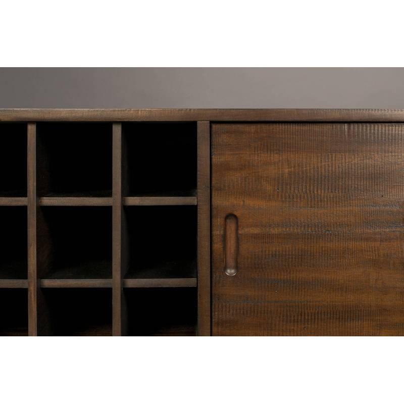 Meuble tv gabor dutchbone console de salon grand meuble - Meuble tv etagere bois ...
