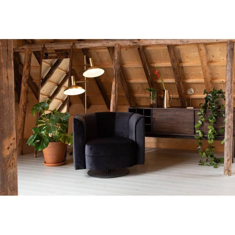Meuble tv gabor dutchbone console de salon grand meuble bas de rangement etag res placards en - Meuble bas de rangement ...