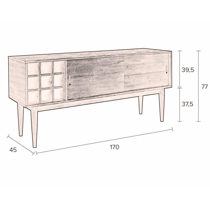 Meuble Tv Gabor Dutchbone Console De Salon Grand Meuble Bas De