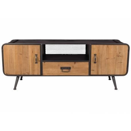 Meuble Tv Gin Console De Rangement Tendance Vintage Scandinave