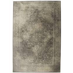 Tapis Rugged Dutchbone Carpette Salon Tapisserie Tissu Clair 2 Tailles