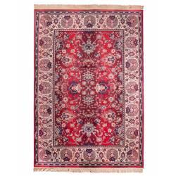 Tapis Bid Dutchbone Carpette Salon Tissu Vieux Rouge 2 Tailles
