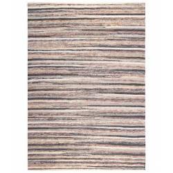Tapis Carve Dutchbone Carpette Salon Tapisserie Fait Main Tissu Laine et Coton 0,7x170x240cm