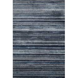 Tapis Keklapis Dutchbone Carpette Salon Tissu Bleu 2 Tailles
