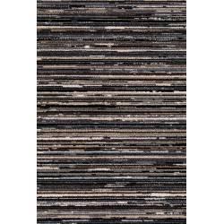 Tapis Keklapis Dutchbone Carpette Salon Tapisserie Tissu Gris 2 Tailles
