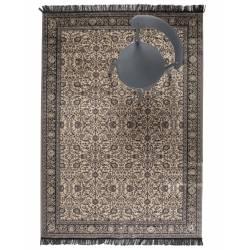 Tapis Bo Woody Carpette Salon Tapisserie Tissu Gris ou Vert 0,3x160x230cm