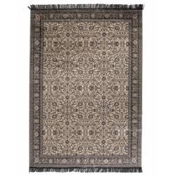 Tapis Bo Woody Carpette Salon Tissu Gris ou Vert 0,3x160x230cm