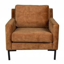 Fauteuil Houda Dutchbone Sofa Design 1 place Caramel 83x85x87cm