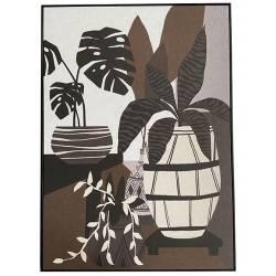 Tableau Plantes Athezza Impression sur Toile Décoration Murale 100x140cm