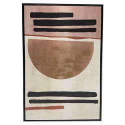 Tableau Demi Sphère Athezza Impression sur Toile Décoration Murale 60x90cm