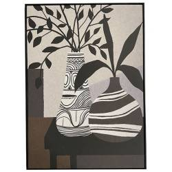Tableau Salon Athezza Impression sur Toile Décoration Murale 100x140cm