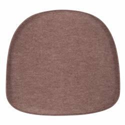Coussin Albert Kuip Marron Zuiver Coussinet d'Assise pour Chaise en Tissu Feutré 1,5cmx36,5x40,5cm