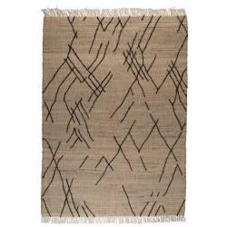 Tapis Ishank Dutchbone Carpette Design Salon Tapisserie Tissu 2 Dimensions