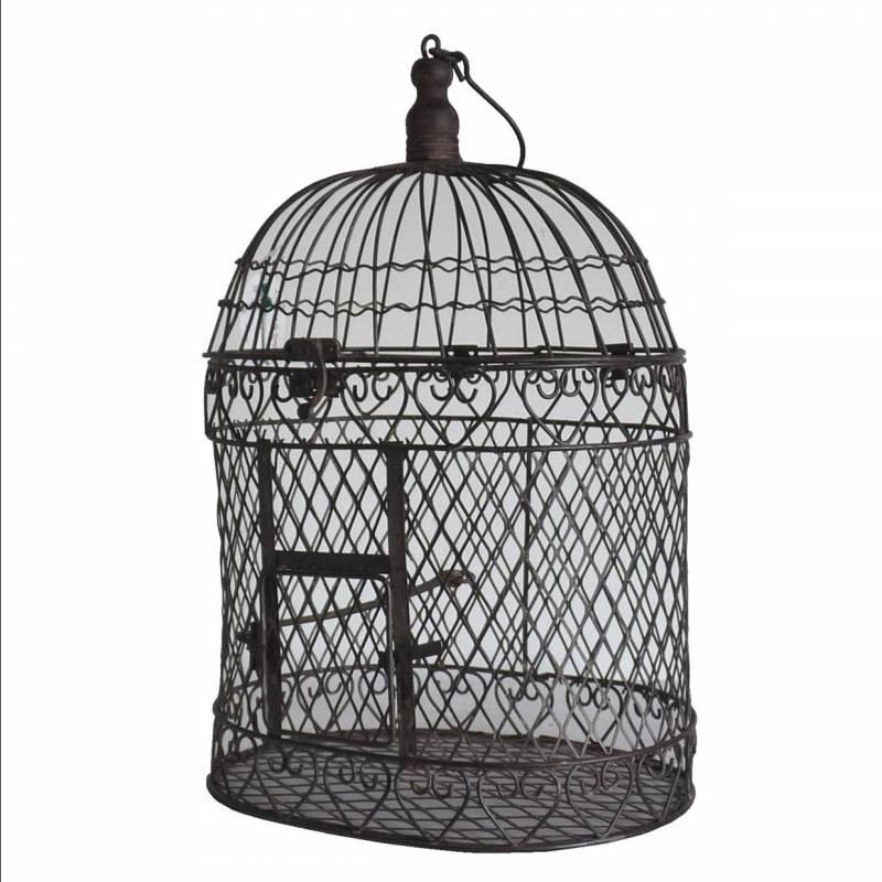Petite cage oiseaux int rieur ext rieur ou voli re for Petite cage a oiseaux decorative