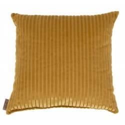 Coussin Décoratif Dubai Gold Dutchbone Décoration de Canapé Lit Fauteuil en Tissu 45x45x45cm