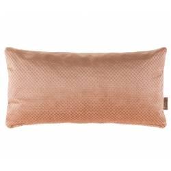 Coussin Rectangulaire Décoratif Spencer Rose Dutchbone Décoration de Canapé Lit Fauteuil en Tissu 30x30x60cm