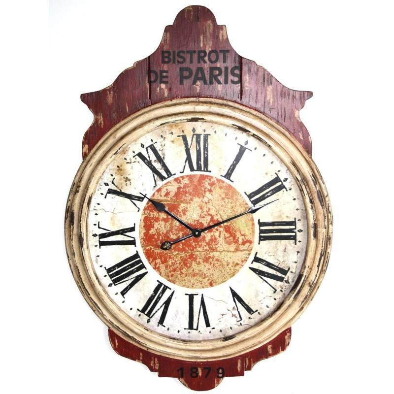 Horloge g ante murale for Horloge murale geante pas cher