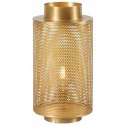 Lampe à Poser Karia Dorée Athezza Eclairage Luminaire Lustre en Métal 28x28x55cm