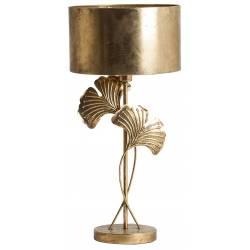 Lampe de Salon Hojas Lastdeco Luminaire sur Pied Eclairage en Métal Doré 74x35x35cm