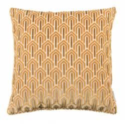 Coussin Décoratif Beverly Jaune Zuiver Décoration de Canapé Lit Fauteuil en Tissu 45x45cm