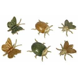 Statuette Insectes Au Choix Décoration à Poser Cache Clés en Métal
