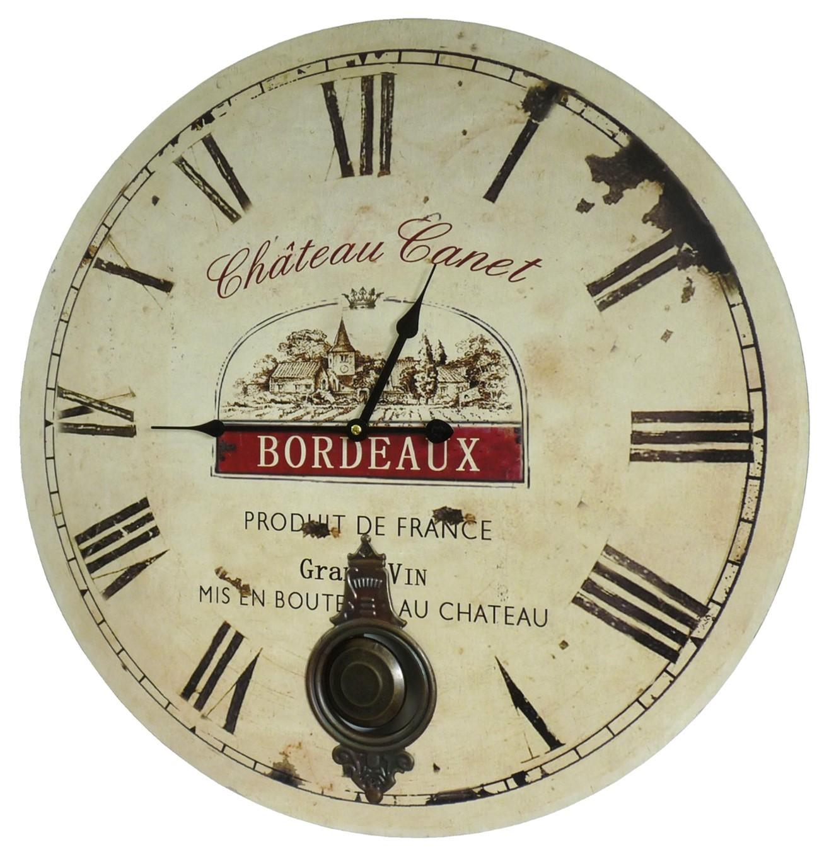 Horloge De Cuisine Horloge Murale Cuisine M Tal Inoxydable