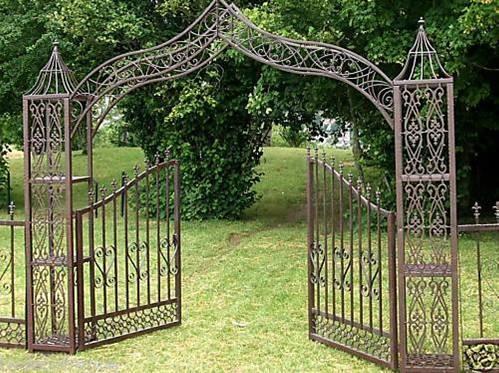 emejing portillon jardin fer forge gallery amazing house design. Black Bedroom Furniture Sets. Home Design Ideas
