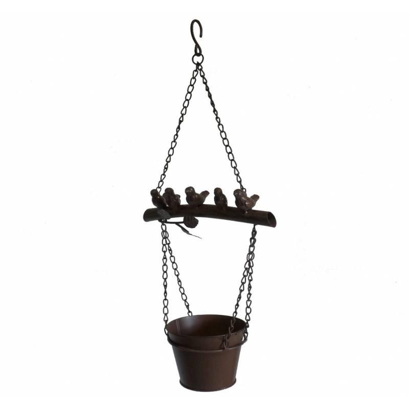 Jardini re suspendre porte pot ou plante mural motif - Jardinieres a suspendre ...