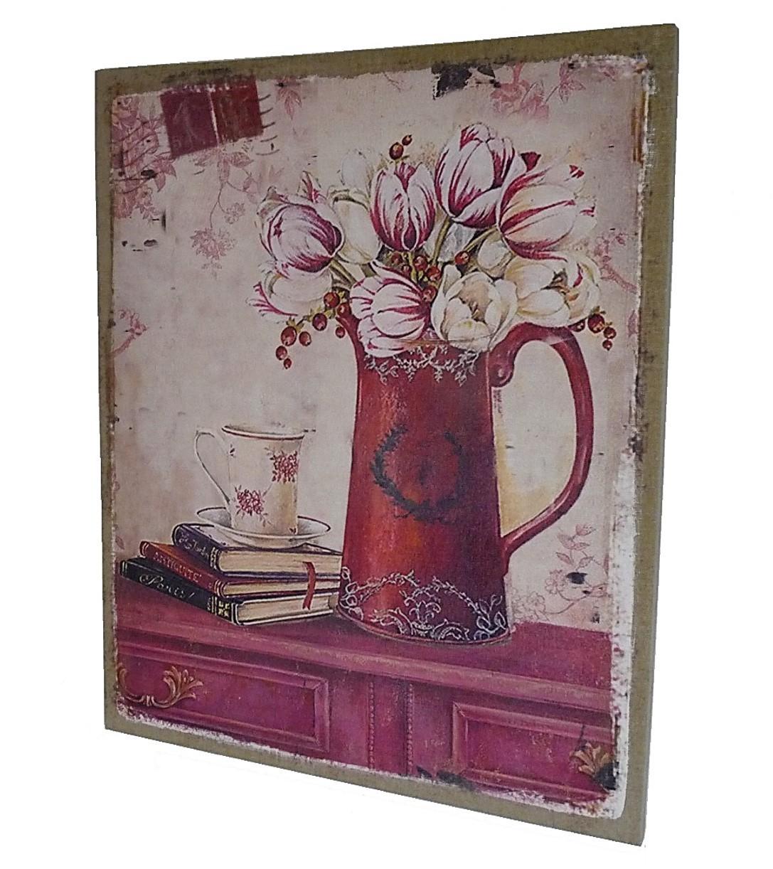 cadre fleurs mural. Black Bedroom Furniture Sets. Home Design Ideas
