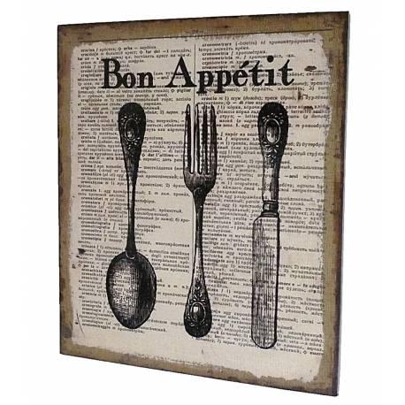 Petit tableau ou cadre mural impression sur toile bon for Tableau temps de sterilisation plats cuisines