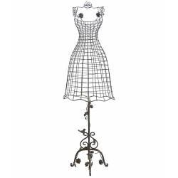 Buste de Couture en Fer Gris 152cm