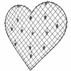 Pêle-Mêle en Fer Forme Coeur