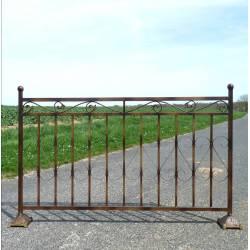 Barrière de Clôture en Fer 160cm