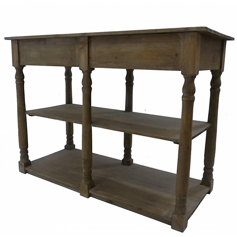 Table de drapier meuble de rangement console de salle de for L or du temps meuble