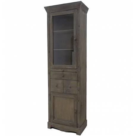 colonne vitrine style bonnetiere meuble de cuisine rangement de salle de bain armoire en bois 34x58x183cm Résultat Supérieur 18 Beau Meuble Colonne En Bois Pic 2017 Hjr2